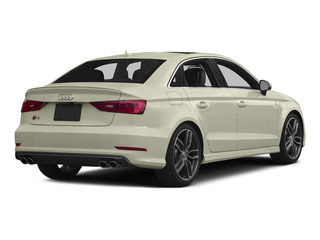 Glacier White Metallic 2015 Audi S3 Pictures S3 Sedan 4D Prestige AWD I4 Turbo photos rear view