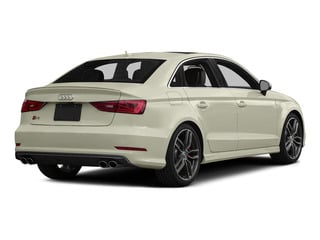 Glacier White Metallic 2015 Audi S3 Pictures S3 Sedan 4D Premium Plus AWD I4 Turbo photos rear view