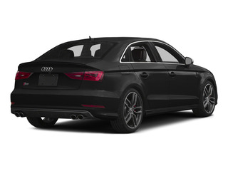 Brilliant Black 2015 Audi S3 Pictures S3 Sedan 4D Premium Plus AWD I4 Turbo photos rear view