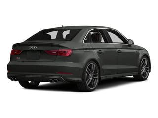 Daytona Gray Pearl Effect 2015 Audi S3 Pictures S3 Sedan 4D Prestige AWD I4 Turbo photos rear view