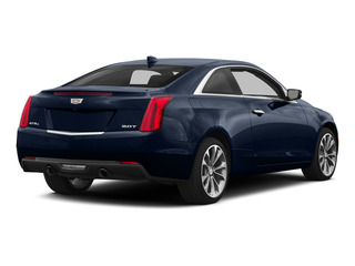 Dark Adriatic Blue Metallic 2015 Cadillac ATS Coupe Pictures ATS Coupe 2D Premium AWD V6 photos rear view