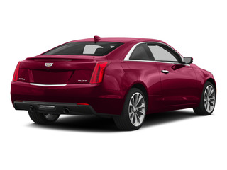 Red Obsession Tintcoat 2015 Cadillac ATS Coupe Pictures ATS Coupe 2D Premium AWD V6 photos rear view