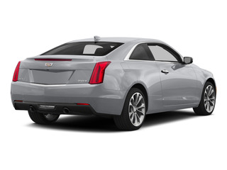 Radiant Silver Metallic 2015 Cadillac ATS Coupe Pictures ATS Coupe 2D Premium AWD V6 photos rear view
