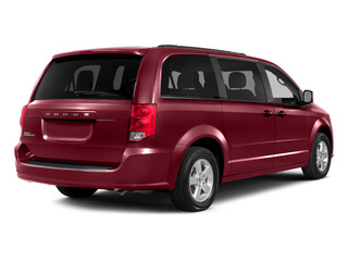 Deep Cherry Red Crystal Pearlcoat 2015 Dodge Grand Caravan Pictures Grand Caravan Grand Caravan SE V6 photos rear view