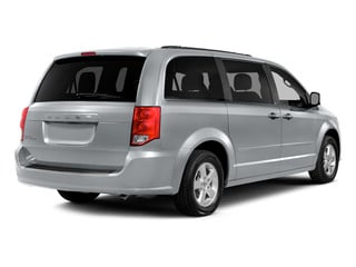 Billet Silver Metallic Clearcoat 2015 Dodge Grand Caravan Pictures Grand Caravan Grand Caravan SE V6 photos rear view