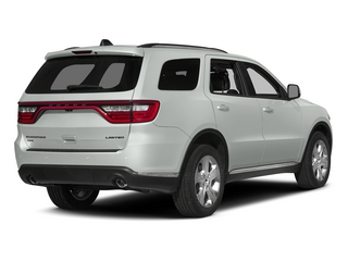 Bright White Clearcoat 2015 Dodge Durango Pictures Durango Utility 4D Limited 2WD V6 photos rear view