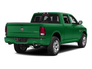Bright Green 2015 Ram Truck 1500 Pictures 1500 Crew Cab SLT 4WD photos rear view