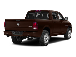 Western Brown 2015 Ram Truck 1500 Pictures 1500 Crew Cab Laramie 2WD photos rear view