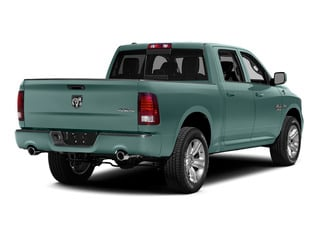 Light Green 2015 Ram Truck 1500 Pictures 1500 Crew Cab Express 4WD photos rear view