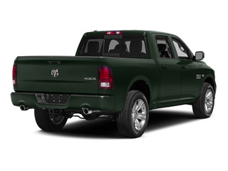 Black Forest Green Pearlcoat 2015 Ram Truck 1500 Pictures 1500 Crew Cab Longhorn 4WD photos rear view