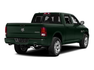 Black Forest Green Pearlcoat 2015 Ram Truck 1500 Pictures 1500 Crew Cab Laramie 4WD photos rear view