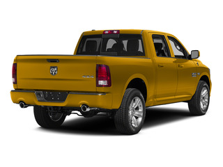 School Bus Yellow 2015 Ram Truck 1500 Pictures 1500 Crew Cab SLT 4WD photos rear view