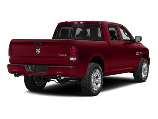 Deep Cherry Red Crystal Pearlcoat 2015 Ram Truck 1500 Pictures 1500 Crew Cab Laramie 4WD photos rear view