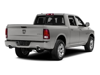 Bright Silver Metallic Clearcoat 2015 Ram Truck 1500 Pictures 1500 Crew Cab Sport 4WD photos rear view