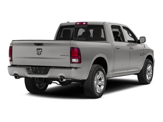 Bright Silver Metallic Clearcoat 2015 Ram Truck 1500 Pictures 1500 Crew Cab Longhorn 4WD photos rear view