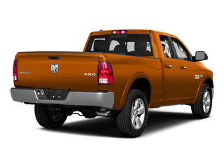 Omaha Orange 2015 Ram Truck 1500 Pictures 1500 Quad Cab Express 2WD photos rear view