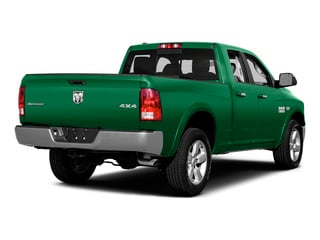 Bright Green 2015 Ram Truck 1500 Pictures 1500 Quad Cab SLT 2WD photos rear view