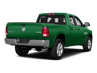 Bright Green 2015 Ram Truck 1500 Pictures 1500 Quad Cab Express 4WD photos rear view