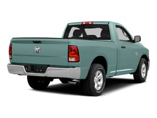 Light Green 2015 Ram Truck 1500 Pictures 1500 Regular Cab SLT 2WD photos rear view