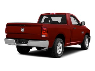 Flame Red Clearcoat 2015 Ram Truck 1500 Pictures 1500 Regular Cab SLT 2WD photos rear view