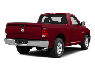 Deep Cherry Red Crystal Pearlcoat 2015 Ram Truck 1500 Pictures 1500 Regular Cab SLT 2WD photos rear view
