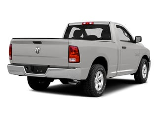 Bright Silver Metallic Clearcoat 2015 Ram Truck 1500 Pictures 1500 Regular Cab SLT 2WD photos rear view