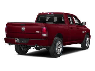 Deep Cherry Red Crystal Pearlcoat 2015 Ram Truck 1500 Pictures 1500 Quad Cab Sport 2WD photos rear view