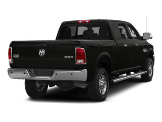 Black Clearcoat 2015 Ram Truck 2500 Pictures 2500 Mega Cab Limited 2WD photos rear view