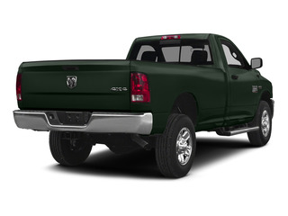 Black Forest Green Pearlcoat 2015 Ram Truck 2500 Pictures 2500 Regular Cab Tradesman 4WD photos rear view