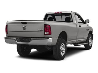 Bright Silver Metallic Clearcoat 2015 Ram Truck 2500 Pictures 2500 Regular Cab SLT 4WD photos rear view