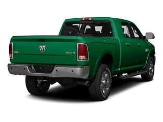 Bright Green 2015 Ram Truck 3500 Pictures 3500 Mega Cab SLT 4WD photos rear view