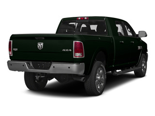 Black Forest Green Pearlcoat 2015 Ram Truck 3500 Pictures 3500 Mega Cab Longhorn 4WD photos rear view