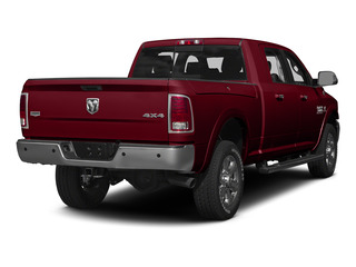 Deep Cherry Red Crystal Pearlcoat 2015 Ram Truck 3500 Pictures 3500 Mega Cab Longhorn 4WD photos rear view