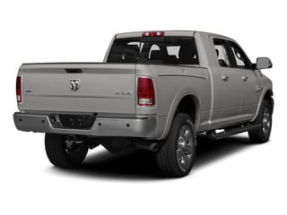 Bright Silver Metallic Clearcoat 2015 Ram Truck 3500 Pictures 3500 Mega Cab Limited 4WD photos rear view