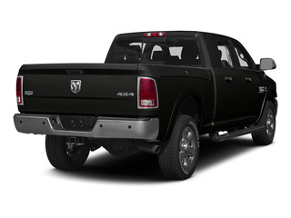 Brilliant Black Crystal Pearlcoat 2015 Ram Truck 3500 Pictures 3500 Mega Cab Limited 4WD photos rear view