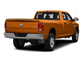Omaha Orange 2015 Ram Truck 3500 Pictures 3500 Crew Cab SLT 2WD photos rear view