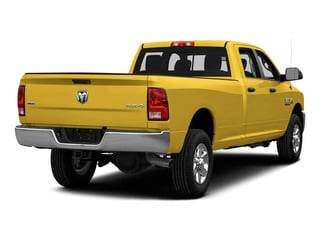 Yellow 2015 Ram Truck 3500 Pictures 3500 Crew Cab SLT 2WD photos rear view