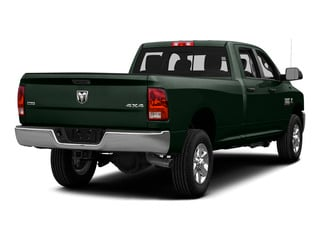 Black Forest Green Pearlcoat 2015 Ram Truck 3500 Pictures 3500 Crew Cab Laramie 4WD photos rear view