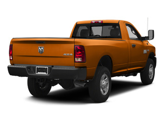 Omaha Orange 2015 Ram Truck 3500 Pictures 3500 Regular Cab Tradesman 4WD photos rear view