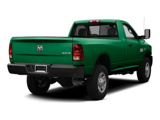 Bright Green 2015 Ram Truck 3500 Pictures 3500 Regular Cab Tradesman 4WD photos rear view
