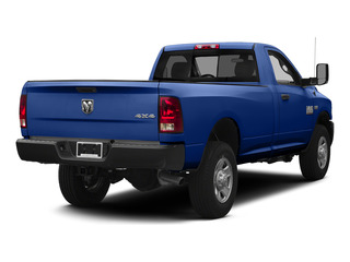 Blue Streak Pearlcoat 2015 Ram Truck 3500 Pictures 3500 Regular Cab Tradesman 4WD photos rear view