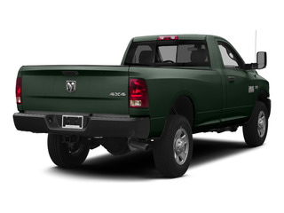 Black Forest Green Pearlcoat 2015 Ram Truck 3500 Pictures 3500 Regular Cab Tradesman 4WD photos rear view