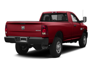 Flame Red Clearcoat 2015 Ram Truck 3500 Pictures 3500 Regular Cab Tradesman 4WD photos rear view