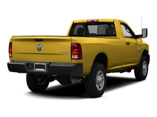 Detonator Yellow Clearcoat 2015 Ram Truck 3500 Pictures 3500 Regular Cab Tradesman 4WD photos rear view