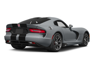Billet Silver Metallic Clearcoat 2015 Dodge Viper Pictures Viper 2 Door Coupe photos rear view
