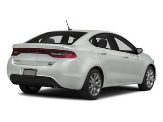 Bright White Clearcoat 2015 Dodge Dart Pictures Dart Sedan 4D Limited I4 photos rear view