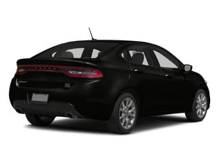 Pitch Black Clearcoat 2015 Dodge Dart Pictures Dart Sedan 4D Limited I4 photos rear view