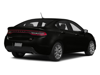 Pitch Black Clearcoat 2015 Dodge Dart Pictures Dart Sedan 4D Rallye I4 photos rear view