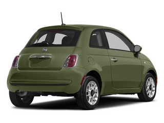 Verde Oliva (Olive Green) 2015 FIAT 500 Pictures 500 Hatchback 3D Sport I4 photos rear view