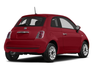 Rosso (Red) 2015 FIAT 500 Pictures 500 Hatchback 3D Sport I4 photos rear view